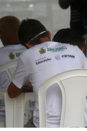 Cetam oferece cursos profissionalizantes para acolhidos do abrigo emergencial da Sejusc