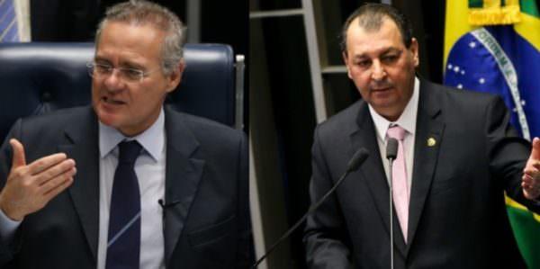 Omar Aziz e Renan Calheiros são suspeitos por envolvimento de desvio de recursos