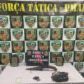 Operação apreende revólver falso e mais de 1 kg de drogas em Manaus
