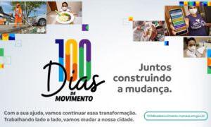 100 dias construindo a mudança com você