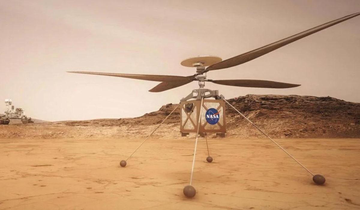 Com êxito, helicóptero Ingenuity realiza primeiro voo para Marte