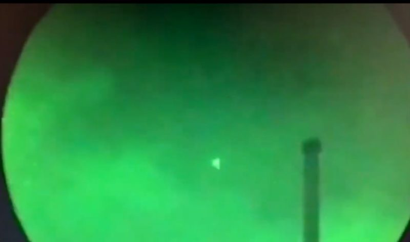 Visita de extraterrestes? Óvnis triangulares são vistos por militares dos EUA