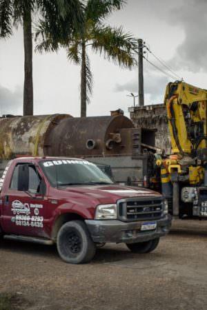 Quadrilha é presa por furtar usina de asfalto avaliada em R$ 120 mil