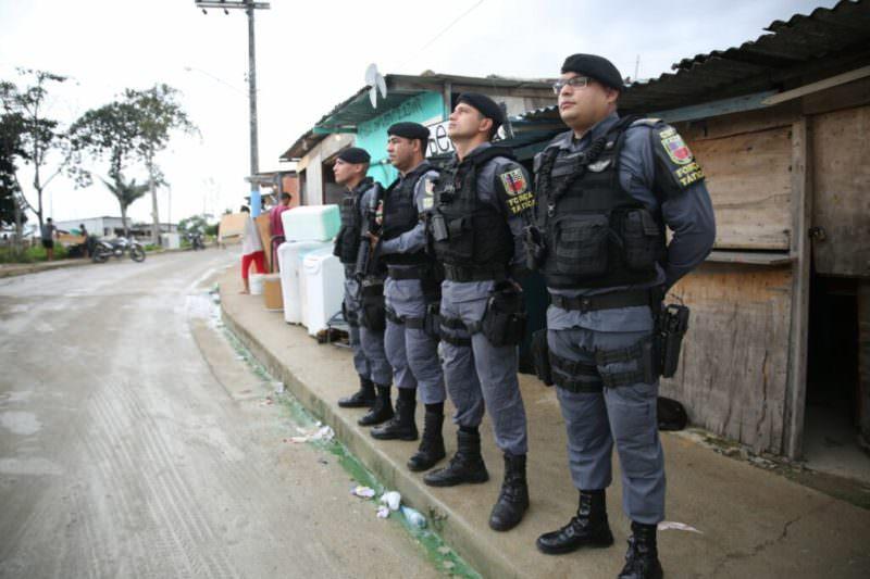 Mais de 40 pessoas são presas no fim de semana em Manaus