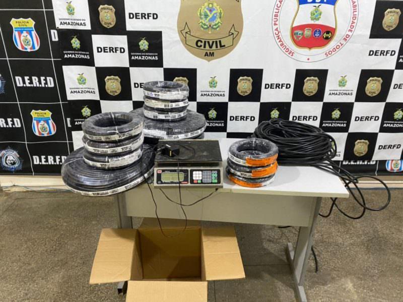 Suspeito de roubar peças de refrigeração é preso em Manaus