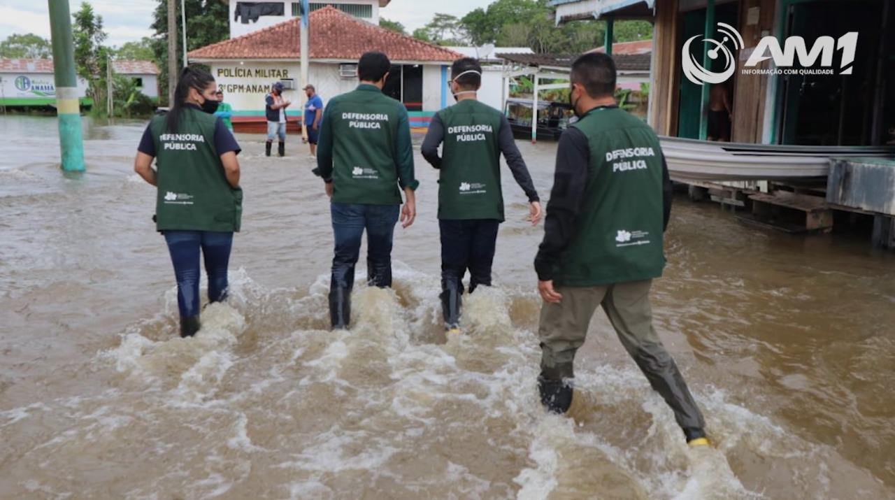 Defensoria pública encontra problemas no município de Anamã