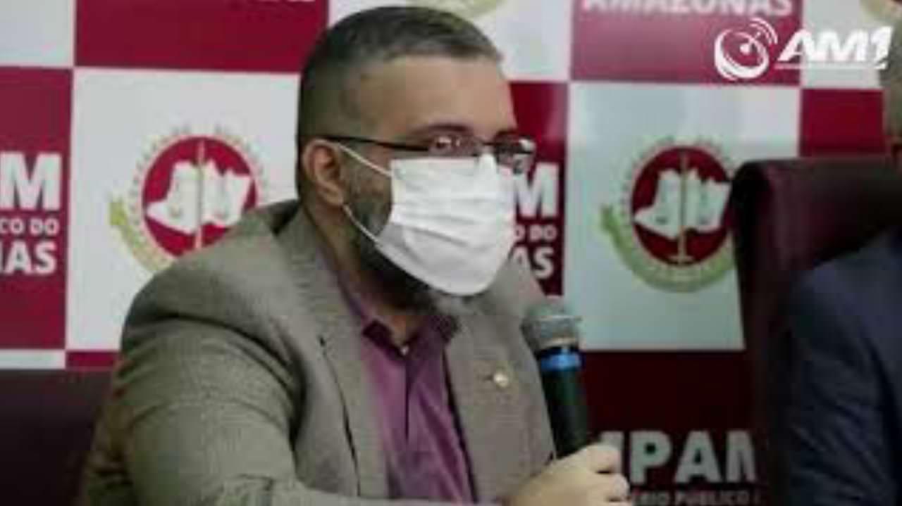 Coletiva de imprensa sobre a prisão do prefeito de Urucurituba
