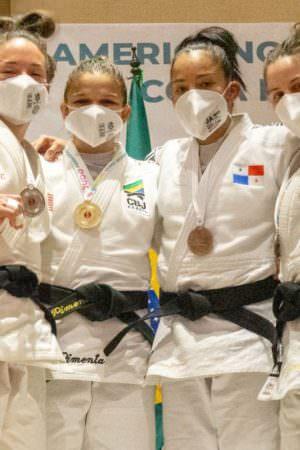 Brasil vai sete vezes ao pódio no Pan de judô com três campeãs