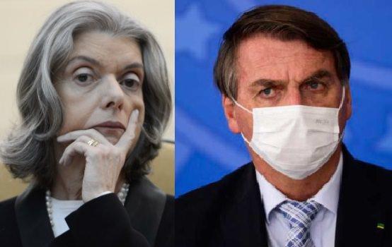 Cármen Lúcia pede que STF julgue Bolsonaro por genocídio na pandemia