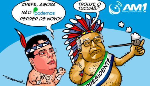 Manaus/AM - O ex-governador Amazonino Mendes assumiu, no último sábado, o comando do Podemos no Amazonas.