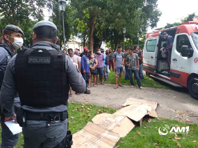 Vendedor é morto com 17 facadas na Praça da Matriz