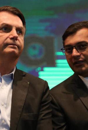 Wilson Lima sanciona lei que vai homenagear Bolsonaro no Amazonas