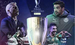 São Paulo e Palmeiras disputam título do Paulistão em clássico Choque-rei
