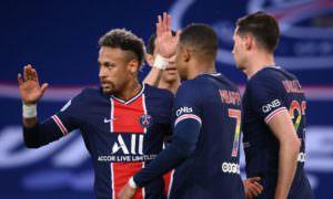 PSG vence Reims com gol de Neymar e segue vivo na briga pelo título francês