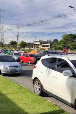 Marcha da Família: apoiadores de Bolsonaro realizam carreata em Manaus