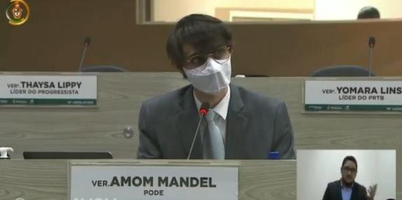 'Vem bomba por aí', diz vereador Amom, que promete revelar escândalo de corrupção na Prefeitura de Manaus