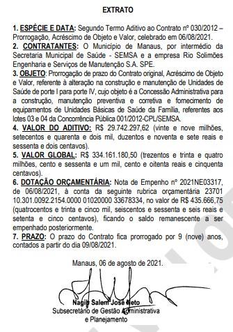 Gestão de David Almeida garante aditivos de R$ 838,1 milhões a empresa de Sérgio Bringel, preso na Operação Maus Caminhos, em 2018